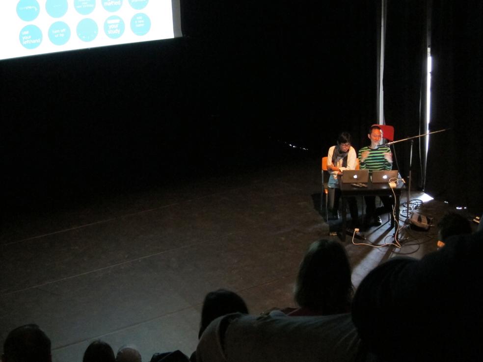 artist talk DCR